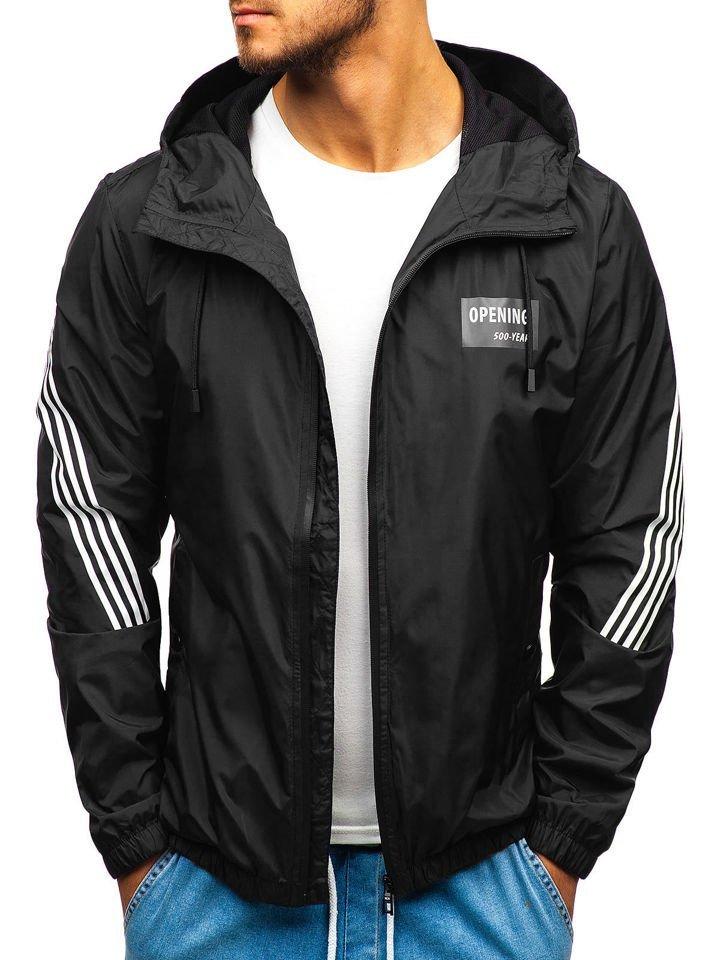 negro La chaqueta hombres para transición de 5687 Bolf I7y6gbfmYv