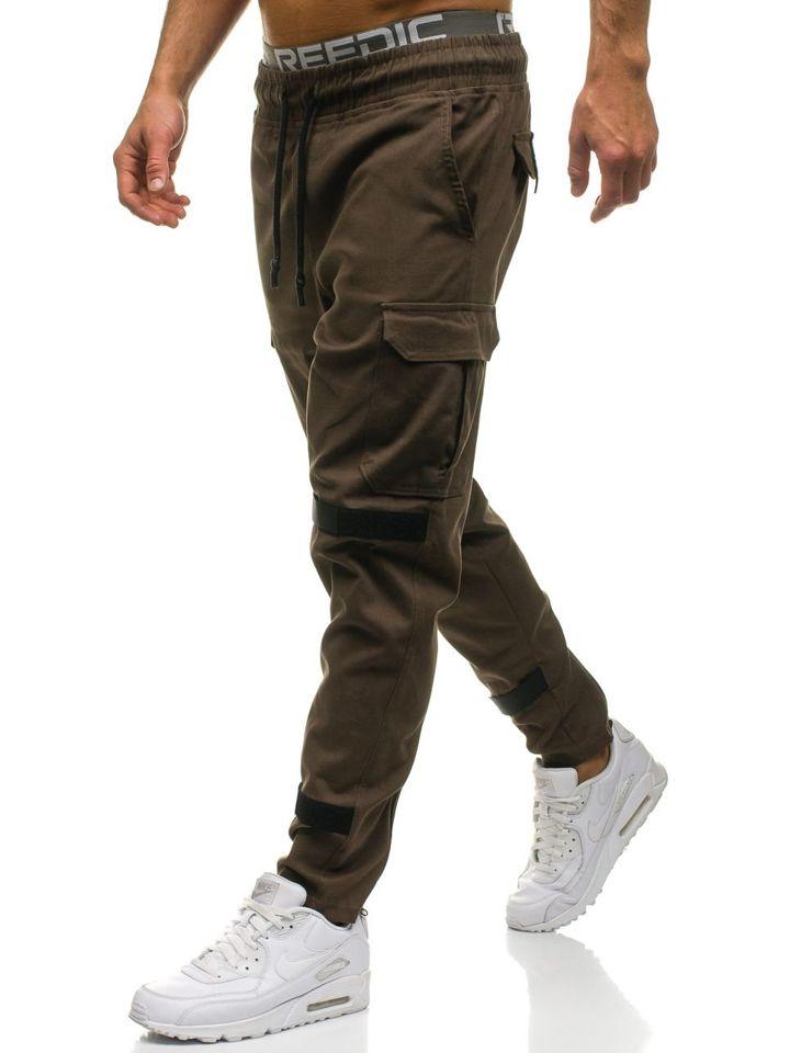 Pour Militaire Marron D'un Homme Le Bolf Style Pantalon 2035 yvNwmn08O