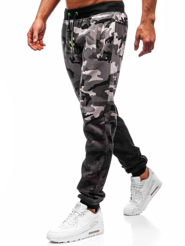 Le pantalon jogger de sport pour homme gris Bolf 55031 GRIS 8746bee59280