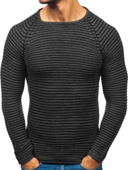 Le pull pour homme anthracite Bolf 152