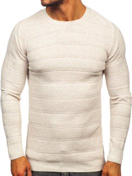 Le pull pour homme beige Bolf 4357