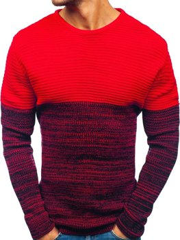 Le pull pour homme rouge Bolf 164