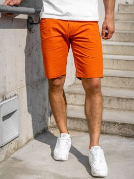 Short orange pour homme Bolf 1140