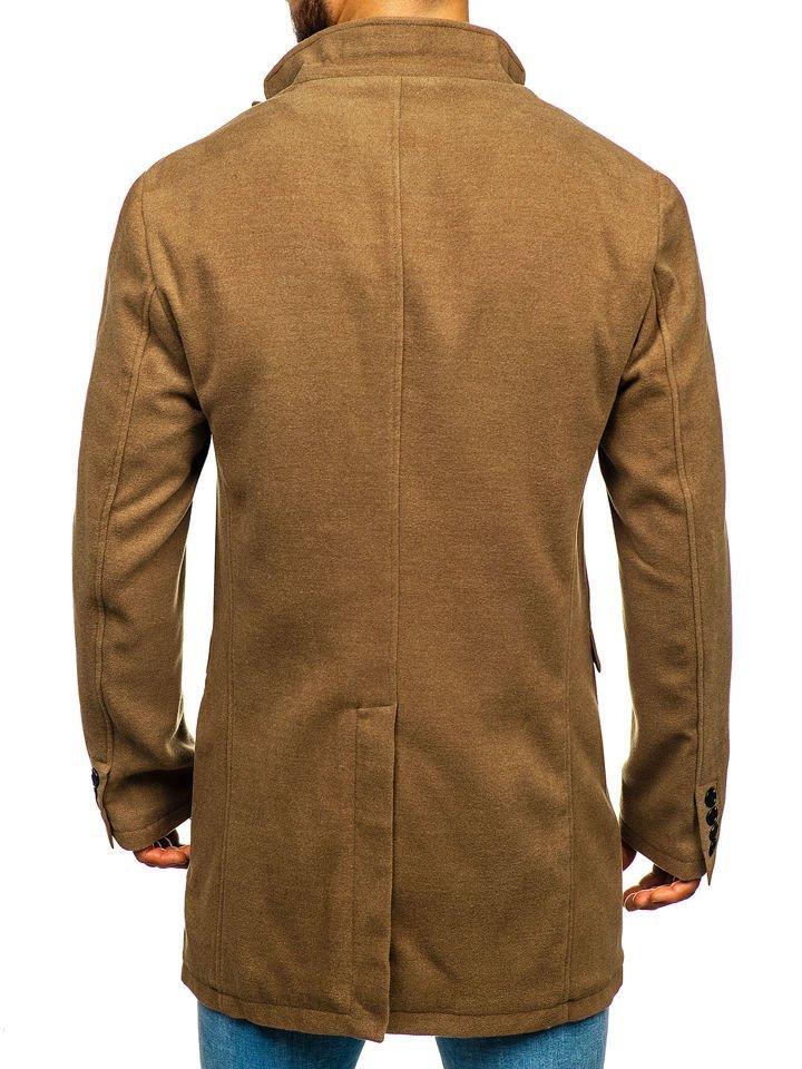 Le manteau d'hiver pour homme camel Bolf 1047A