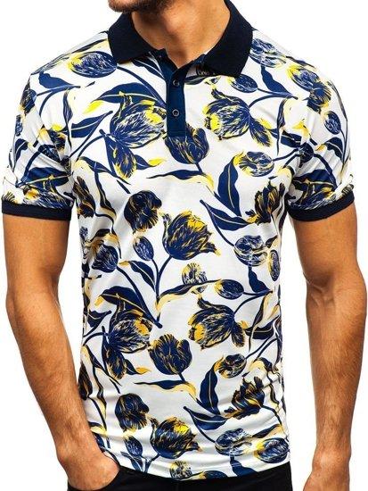 Marino Camisa Tx20 O Polo Negro Contraste Color Azul Gris Texo Hombres 7gmIbyvfY6