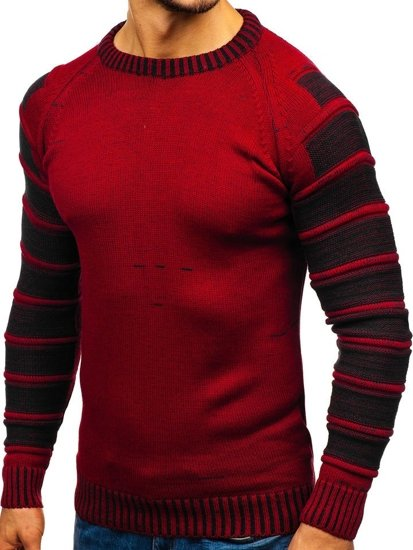 Le pull pour homme rouge Bolf 6007